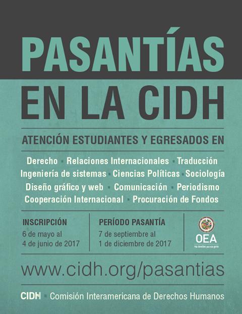 pasantias-en-la-comision-interamericana-de-derechos-humanos-hasta-el-4-de-junio-2017